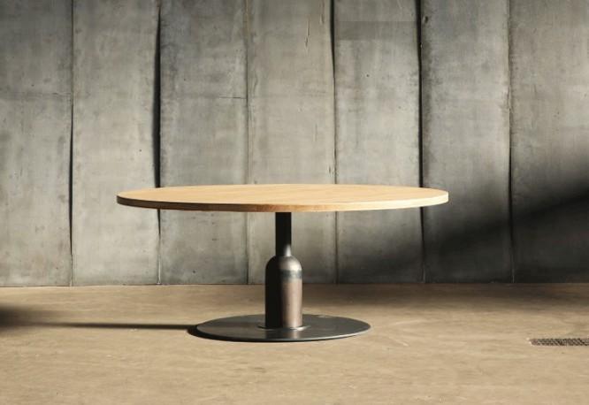 Table Insieme - Chêne - ∅ 180 cm