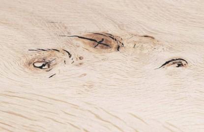 Bespoke Dolmen Table SERENITY, Solid Oak
