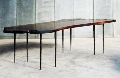 Table en noyer italien 250x100cm sur commande