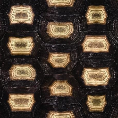 Papier Peint ECAILLE DE TORTUE, Rouleau 1000x50cm