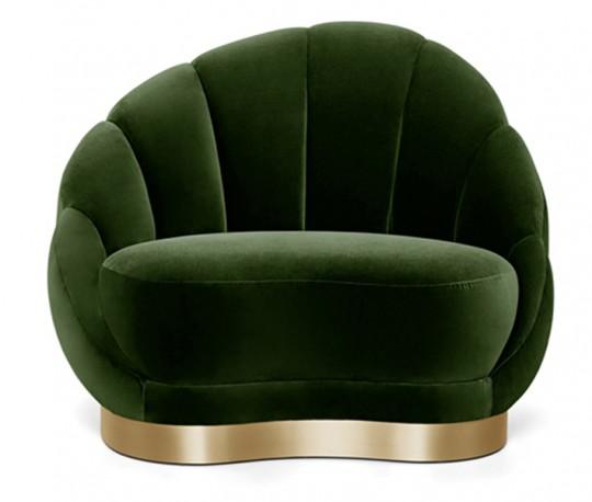 Fauteuil Shell Design 70s - Prix sur Demande