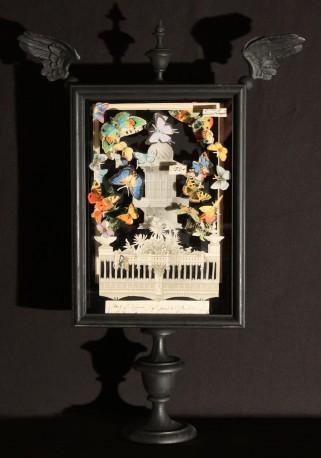 Lampe de Table Butterflies, H61cm - Italie