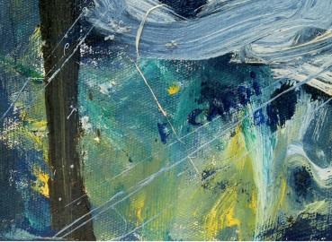"Oil Painting ""Les Nymphéas"" - Price on Demand"