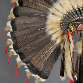 Coiffe de chef de guerre Sioux