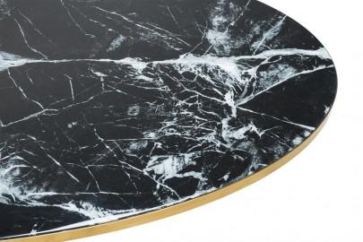Table Ronde Noire Ennio ø170 cm