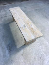 Bench in Raw Massive Wood Palazzo