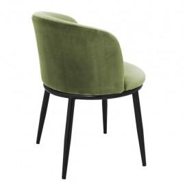 Chaises Balmore Vert Amande, set de 2