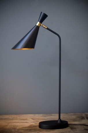 Polished Brass Lamp 50s style