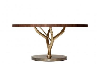Round Dining Table, Magnolia Mid-century Design