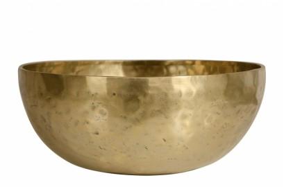 """Tibetan """"singing"""" Bowl in brass."""