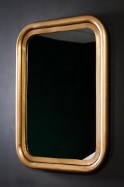 Rectangular Mirror Brass Gallery