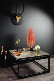 Constantine Coffee Table, Mango & Marble