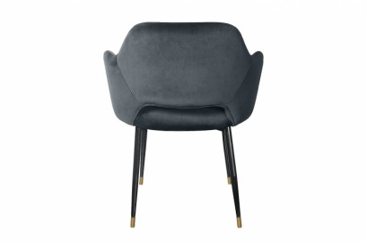Dining Armchair Healey Grey Antracite