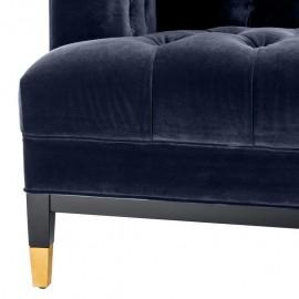 Venice Sofa Blue Midnight 230 cm