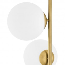 Floor Lamp Foam, Brass and Marble
