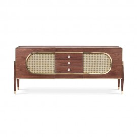 Ray Sideboard in Rosewood 50s