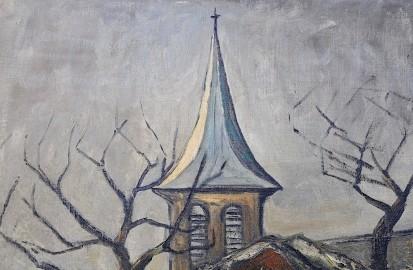 Oil on canvas 1930