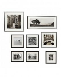 Photos de Voyage Noir et Blanc - Lot de 8