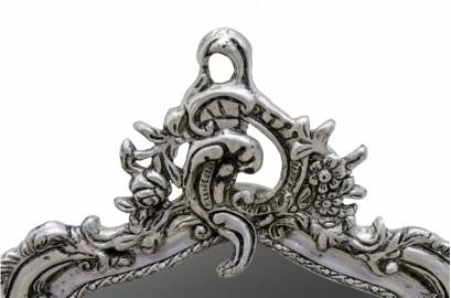 Miroir Baroque Sylphide argenté