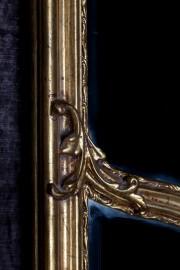 Grand miroir baroque biseauté