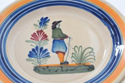 Henriot Quimper plates
