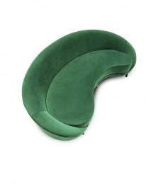Green Velvet Sofa Bean L250cm