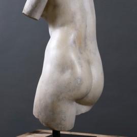 Buste de Vénus sur Socle - H 79cm