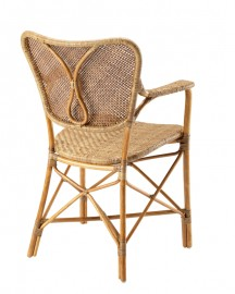 Rattan Dining Chair Honey Color