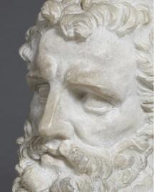 Buste de penseur - H35 cm