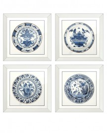 Imperial China Prints, Set of 4
