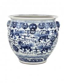 Grande Jarre Céramique Chinoise - H50 cm