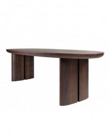Table Bois Massif Ovale Pablo 330cm