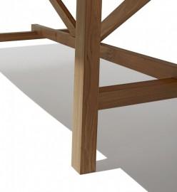 "Table ""Atelier"" chêne massif - 250 cm"