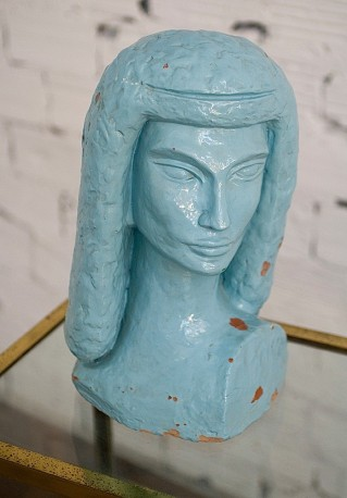 Vintage bust of Egyptian