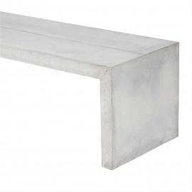 Banc Concrete L140 cm