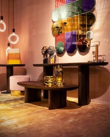 Table Basse Ovale Pablo 140cm