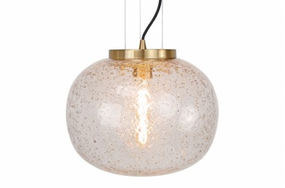 Rond Bubble Glass Hanging Lamp