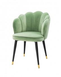 Chaise en Velours Capucine