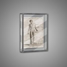 Greek Statuary Frames - set of 4