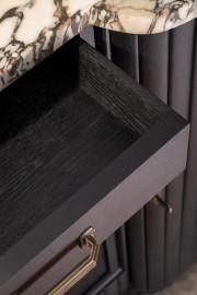 50's Sideboard Black Finish
