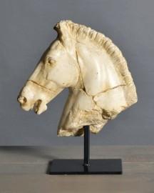 Statue Tête Cheval de Monti