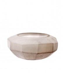 Sand Color Vase Silk H15cm