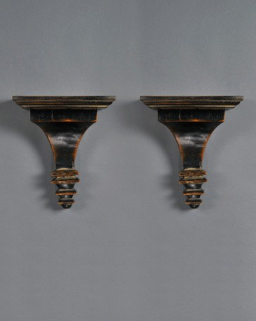 Victorian Wall Consoles, Set of 2
