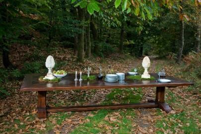 Monastery-Style Farm Dining Table Chambord