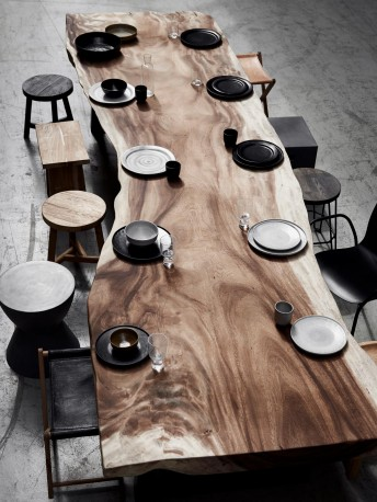 Tailor-Made Dolmen Dining Table, Suar Wood