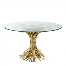 Round Dining Table des Champs ø130cm