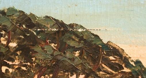 """Tableau """"Les Calanques"""" 1920-30"""