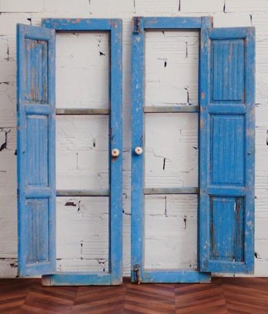 Paire de portes décoratives