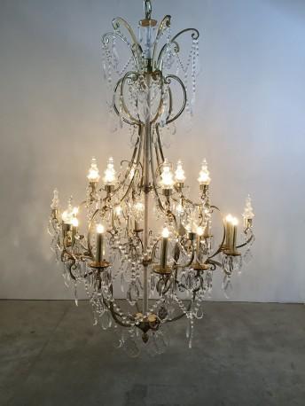 "Lustre cristal ""Sissi"" - ∅ 50cm"