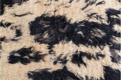 Grand Tapis Tulu 200x300cm, pièce unique
